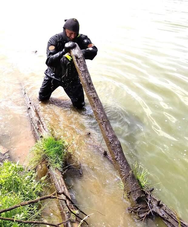 Дайверы очистили дно в 10 водоёмах Удмуртии