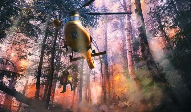 Россия направит 11 самолетов натушение пожаров вТурции