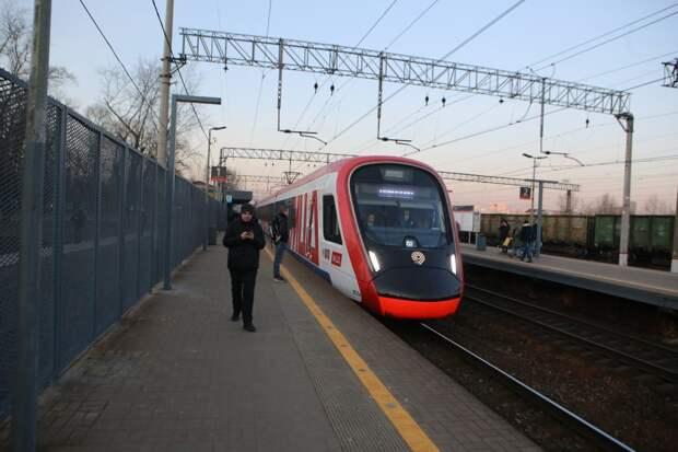 Несколько поездов проследуют от станции Бескудниково по изменённому расписанию с 20 по 26 сентября