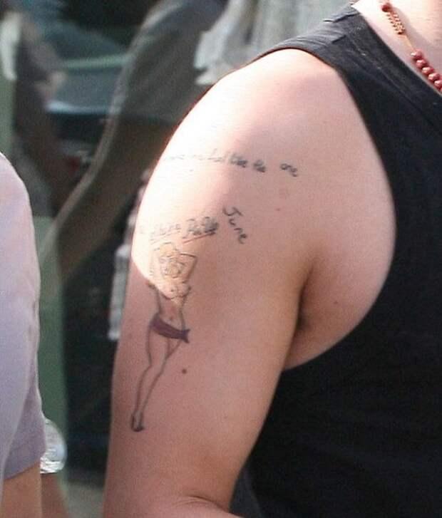 10 безобразных татуировок звезд, о которых они пожалели