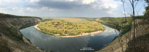 Подкова реки Дон, Кривоборье. Жаль, фото не передает реальную высоту