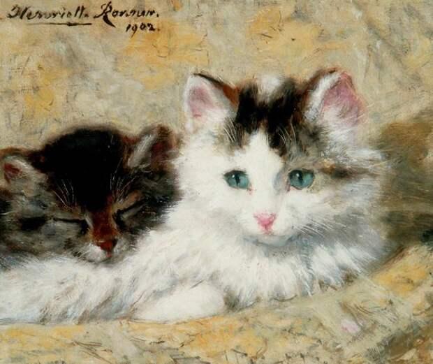 Этюд с кошками. 1902