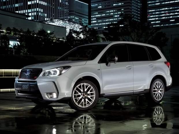 Новый спорткроссовер Subaru Forester STI разочаровал