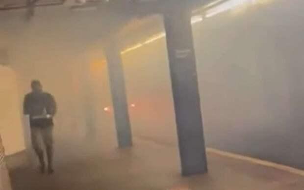 Что будет, если оставить велосипед на рельсах метро (видео)