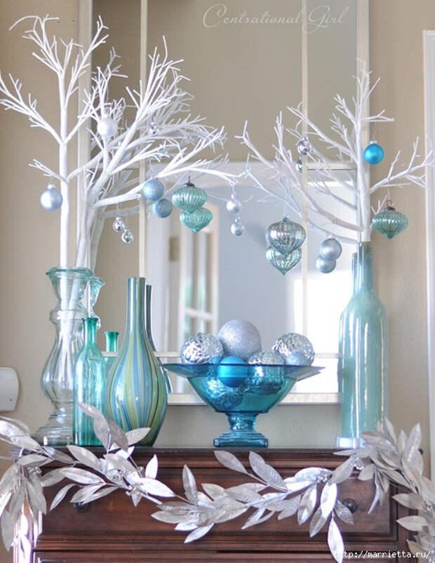 Идеи рождественского  декора  в интерьере