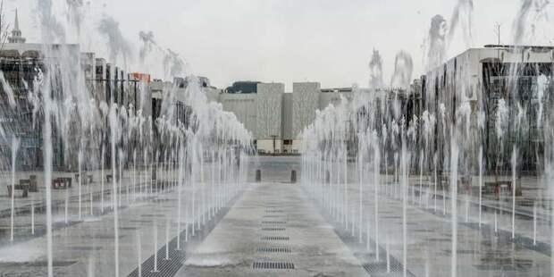 Москвичам напомнили, где в городе располагаются самые интересные фонтаны