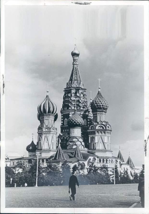 1970. Москва. Собор Василия Блаженного