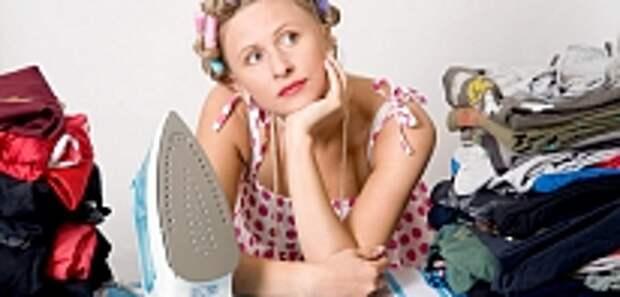 Тайм менеджмент для женщин, гладить белье