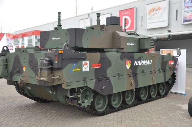 танк harimau, танк тигр, бронетехника индонезии