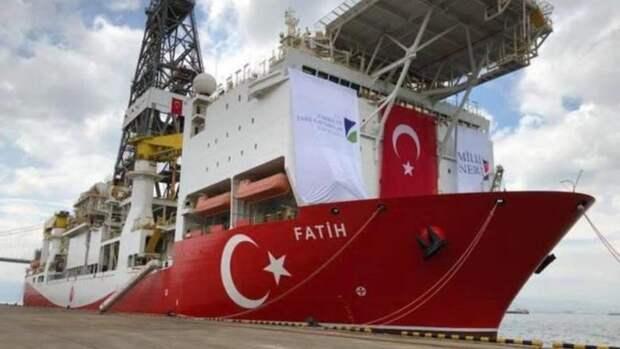 Бурение уберегов Кипра Турции даром непройдет