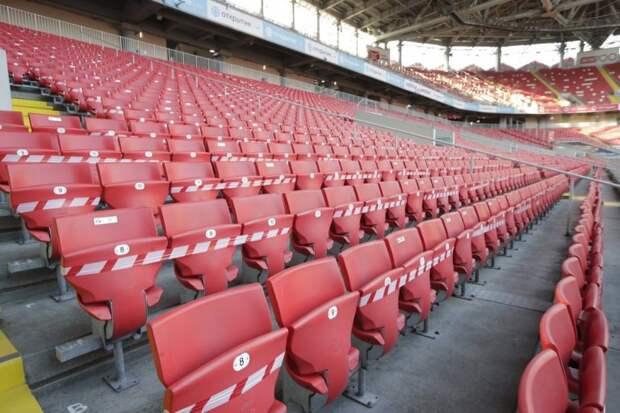 На домашний стадион «Спартака» в октябре пустят только треть зрителей
