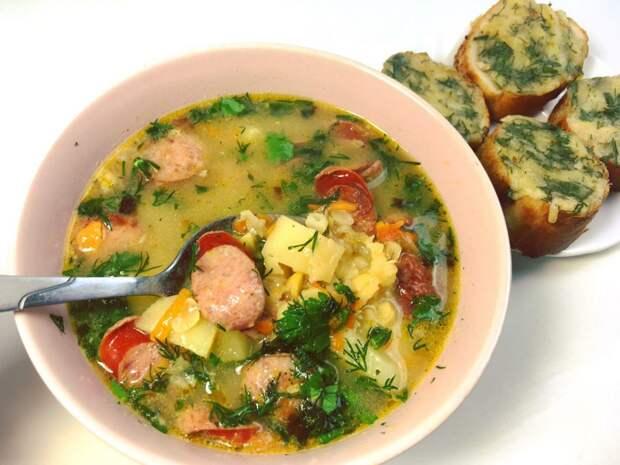 Частый гость на нашем столе. Приготовьте этот суп и сытный обед вам обеспечен
