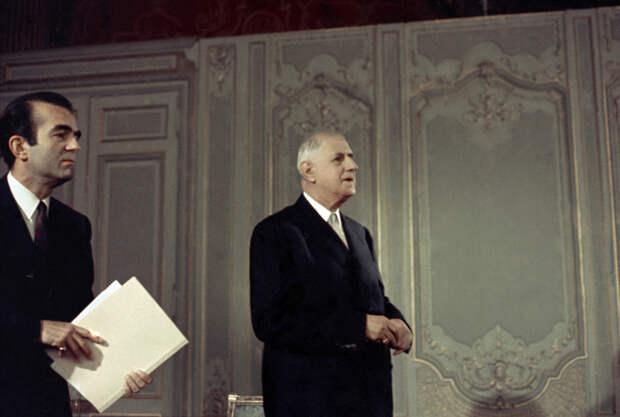 Франция: наследие де Голля и Миттерана