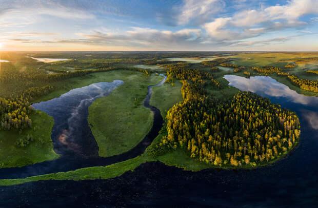 Россия: Карелия, национальный парк «Водлозерский»