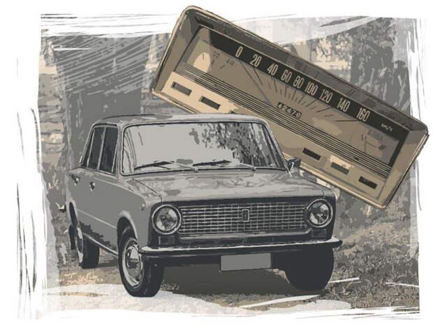 ВАЗ-2101: вы знаете, почему на первых Жигулях почти не было стрелочных приборов?