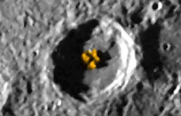 Скотт Уоринг обнаружил на Меркурии структуру инопланетян