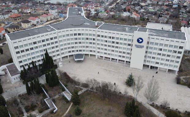 Вид на здание Севстопольского государственного университета