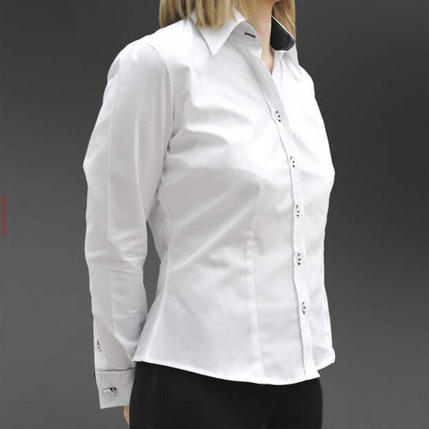 Выкройка классической женской блузки