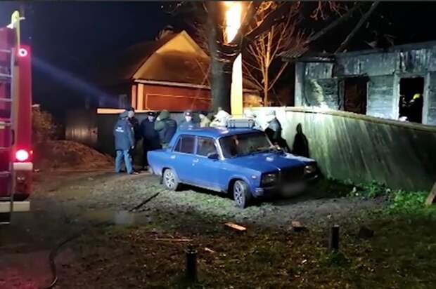 По Смоленском 7 человек погибли в пожаре, выбраться удалось только отцу семейства