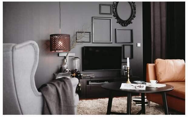 """Как """"потерять"""" телевизор на стене"""