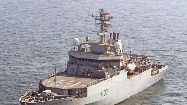 Великобритания планирует отправить два военных корабля в Черное море в мае