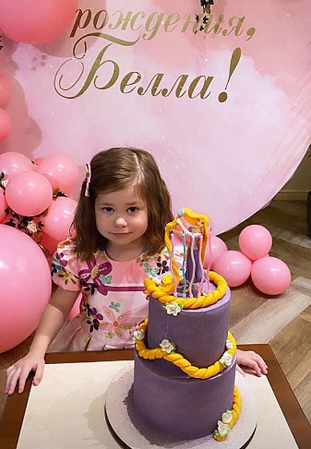 Екатерина Климова воссоединилась со своим бывшим мужем Гелой Месхи на дне рождения дочери