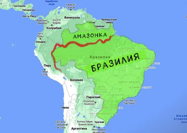 """Почему такая """"крутая"""" Бразилия не может построить ни одного моста через Амазонку"""