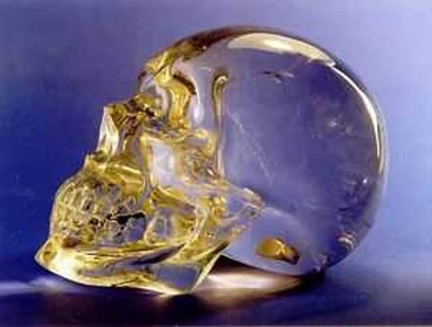 Хрустальный череп из Города павших камней