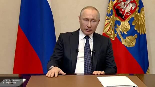 Путин анонсировал неделю выходных в России для снижения распространения коронавируса