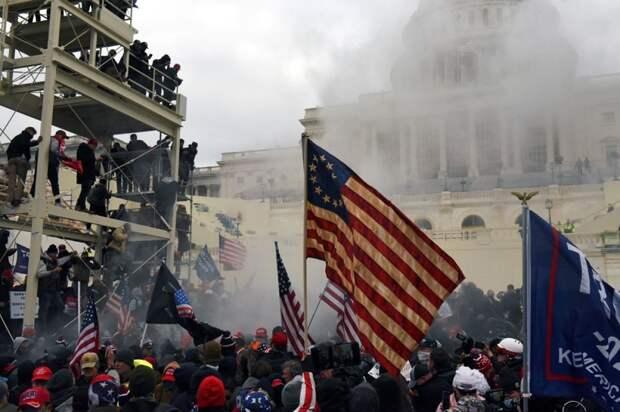 Штурм Капитолия в США и майдан 2014 г.