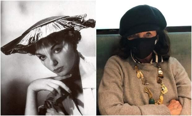 Как безупречная британка и соперница Элизабет Тейлор 70 лет удержалась в образе женщины-вамп: Джоан Коллинз