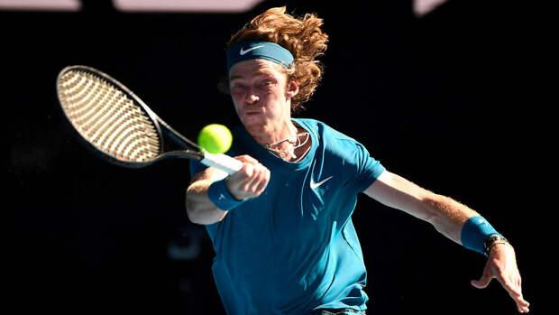 Рублев вышел в финал турнира в Монте-Карло