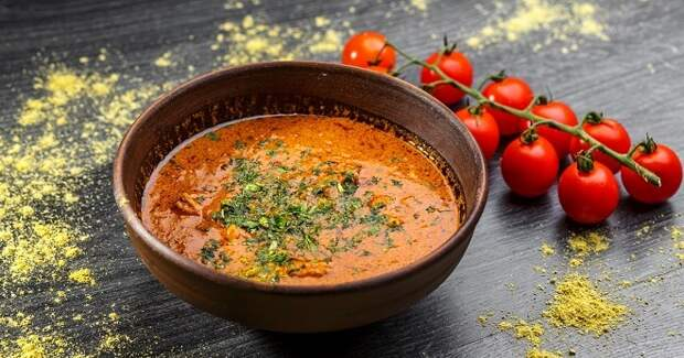 Классический рецепт харчо - очень вкусное, горячее и сытное блюдо