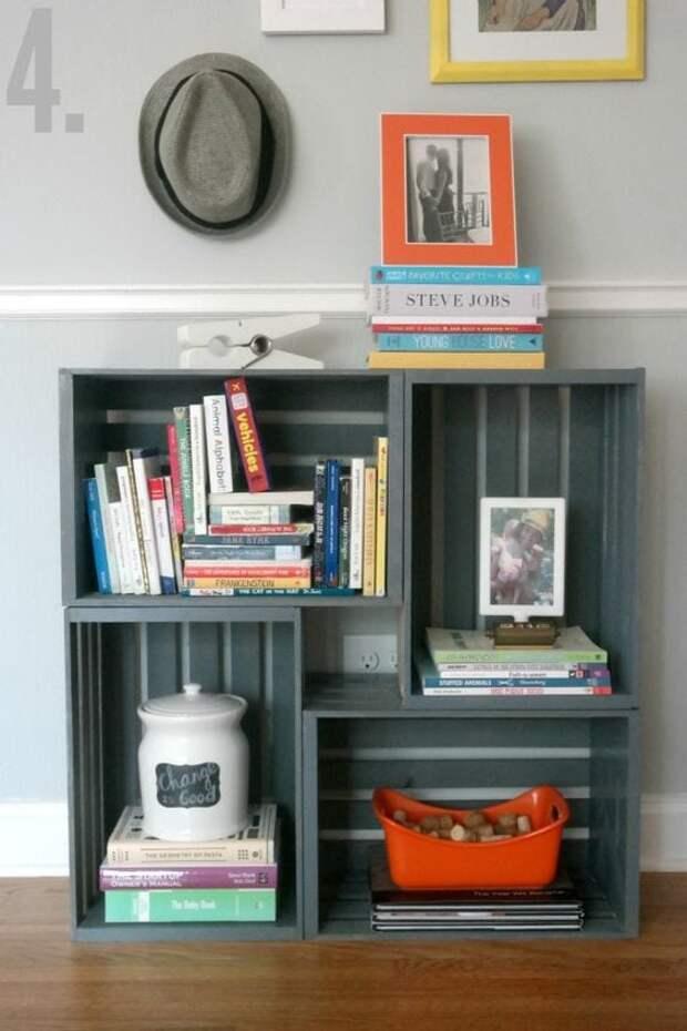 Дополните и украсьте интерьер вашей комнаты с помощью необычных полок