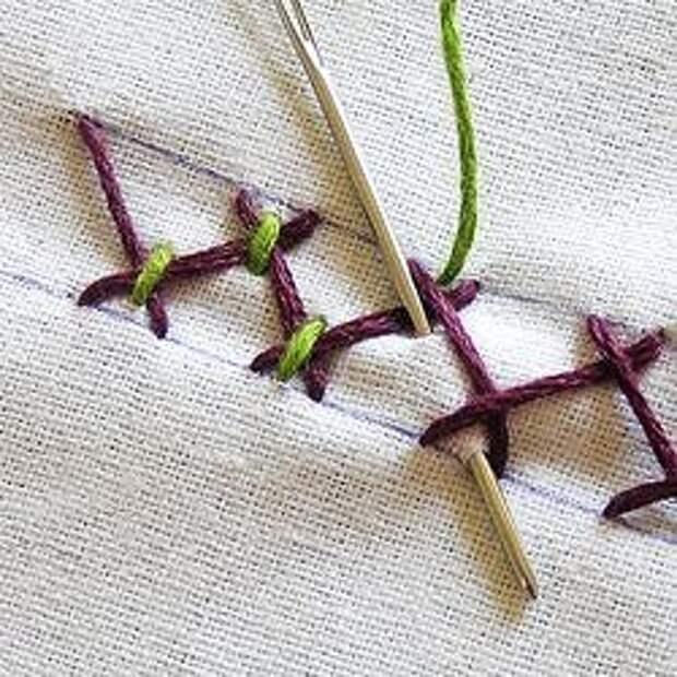 Коллекция вышивальных швов из Бразилии