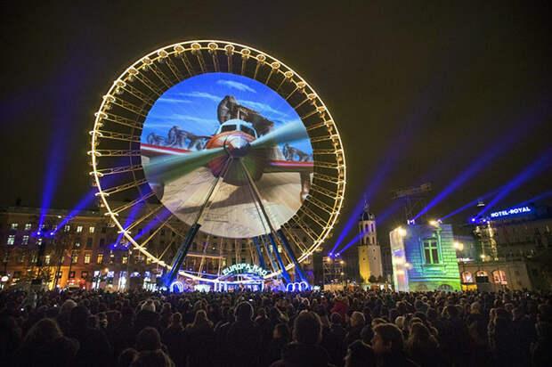 Как в Лионе прошел Фестиваль света