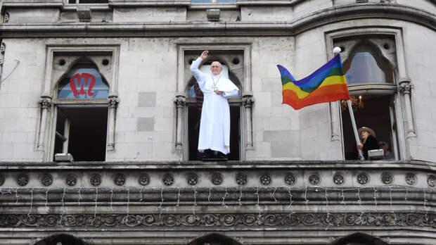 """""""Говорят, папа не настоящий!"""": Гомосексуальная мафия захватила Ватикан"""
