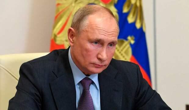 Путин назвал дату своей вакцинации от коронавируса