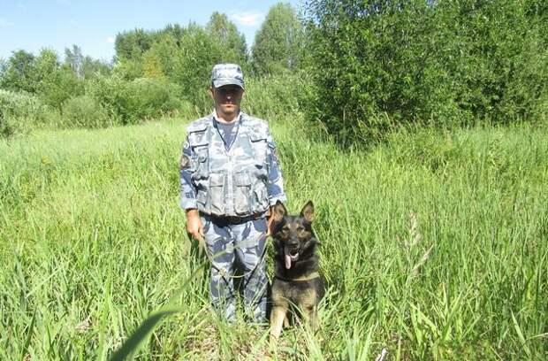 В Удмуртии служебная собака помогла найти пропавшую женщину