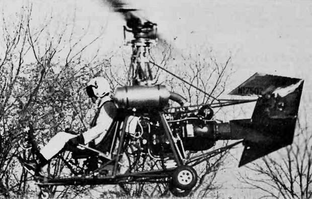 Model-193 Honcho в полёте, 1972 год - Нетрадиционная любовь Бруно Наглера | Warspot.ru