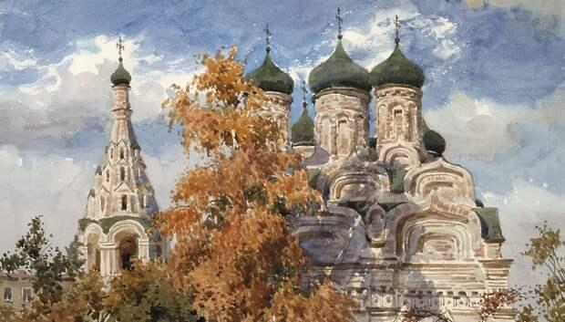 Выставка акварели школы Сергея Андрияки откроется в Подольске в пятницу