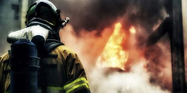 При хлопке газа в Подмосковье погиб один пожарный