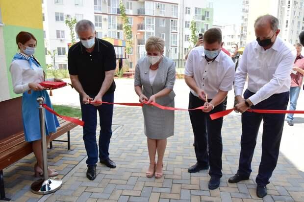 В Симферополе открыли новый детский сад на 260 мест