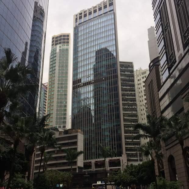 2. Снова Гонконг. Если смотреть на него с высоты, то зеленых участков практически нет жилая застройка, каменные джунгли, квартиры, фото, человеческий муравейник