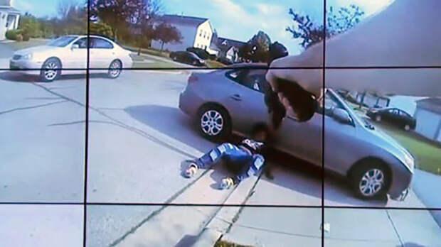 Убийство афроамериканки в Колумбусе сняла камера на груди полицейского
