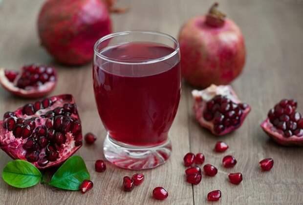 2. Гранатовый сок виагра, восстановление, здоровые, мужское здоровье, полезные продукты, потенция, продукты