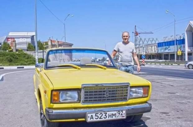 Умелец из Севастополя превратил «копейку» в шикарный кабриолет (ФОТО)
