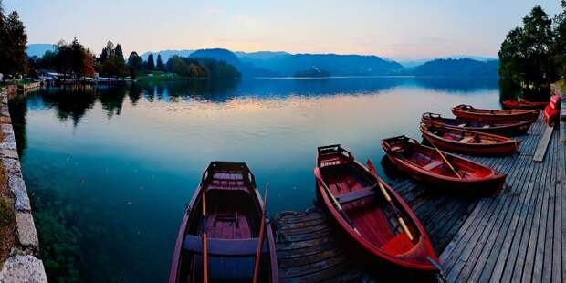 Легенды Бледского озера. Фотограф Мария Пекерман (МARINA PEKERMAN)