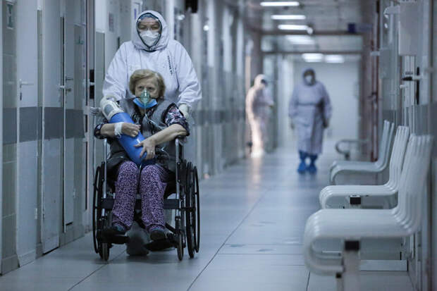 Россия импортировала медицинский кислород для больных COVID на ИВЛ