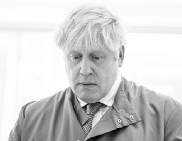Борис Джонсон в начале пандемии коронавируса